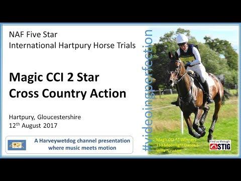 International Hartpury Horse Trials: Magic CCI 2 Star Cross Country