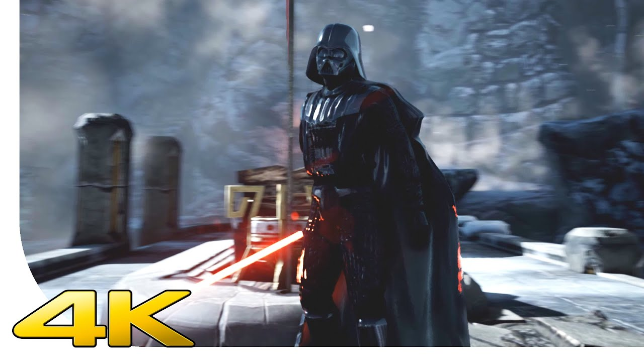Star Wars Battlefront Wallpaper Hd 4k Darth Vader Unreal Engine 4 Dx12 Star Wars By