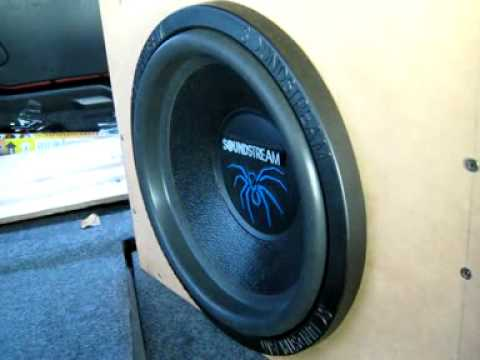 Soundstream T4-12 Subwoofer 1000w rms @2ohm