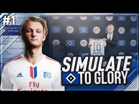 ZURÜCK zum ERFOLG!! 🏆 Wir holen DOLBERG zum HSV!?? 😱🔥 - FIFA 18 HSV Simulate to Glory #1