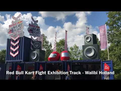Red Bull Kart Fight Exhibition Track - Walibi Holland