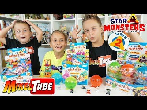 STAR MONSTERS SERIE 2 de Magic Box Toys en Mikel Tube