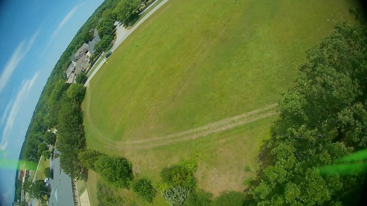 Second flight with the new freestyle drone фото
