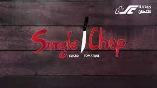 Single Chop Sliced Tomatoes Trick - Time-Saving Hack by TSC #2