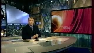 """Окончание программы """"Воскресное время"""" и начало фильма """"Любовь-морковь-3"""" (Первый канал, 18.09.2011)"""
