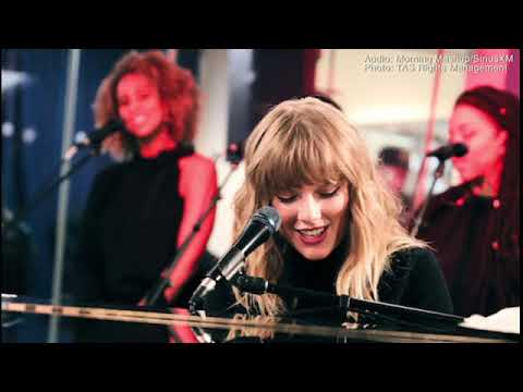 LISTEN  Taylor Swift performs Call It What...