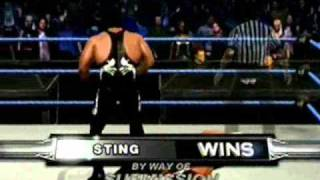 CAW Champion of Champions Title Match: Sting vs. Ric Flair©