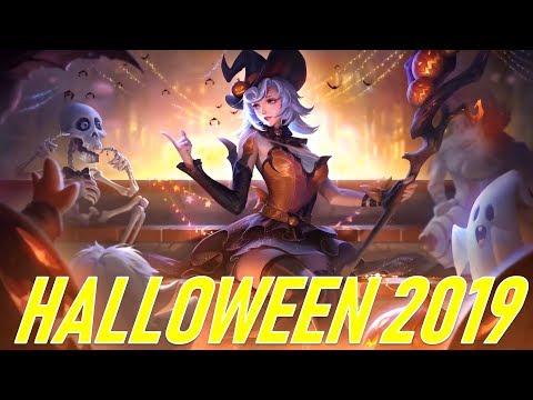 Liên quân Halloween Điêu thuyền Maloch người đẹp và gã to con - Nhận Free skin