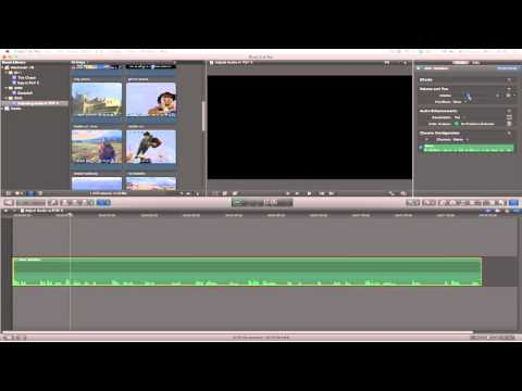 Final Cut Pro X: How to adjust audio levels and adding keyframes
