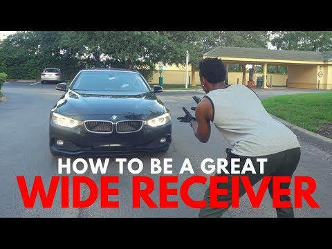 HOW TO BE A GREAT WIDE RECEIVER..
