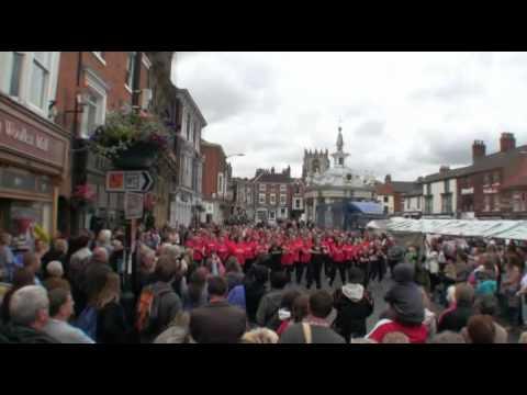All For One Choir/Hot Gospel Flashmob Beverley