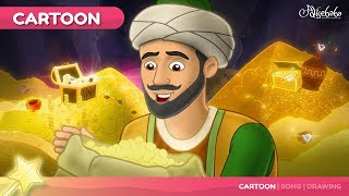Ali Baba and the 40 Thieves kids story cartoon animation