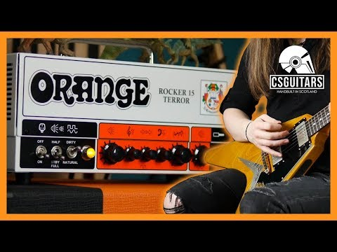 Orange Rocker 15 Terror | Everything You Need For Rock!