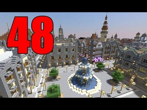 Скачать карту для майнкрафт 1.4.7 большой город
