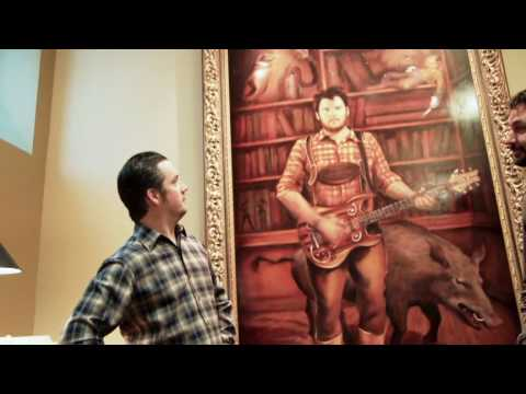 Isaac Brock of Modest Mouse Unveils His Portrait Painting