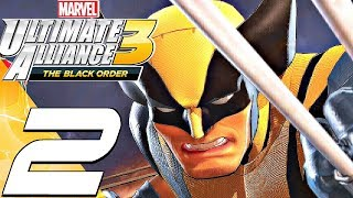 Marvel Ultimate Alliance 3 - Gameplay Walkthrough Part 2 - Time Stone & Defenders (Full Game) Switch