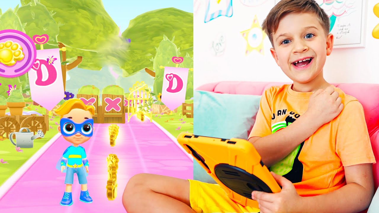 Roma and Diana Adventures in new games for kids