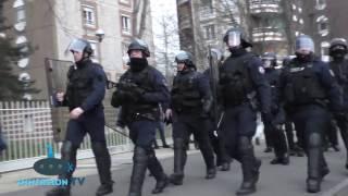 Affaire Théo : affrontements à Bobigny après une manifestation interdite