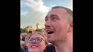 SAM SMITH'S REACTION TO CELINE DION'S CONCERT