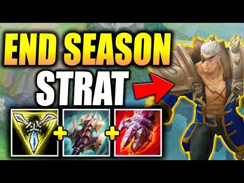 END OF SEASON CLIMBING STRATEGY! INSANE DAMAGE TO TOWERS! - League of Legends