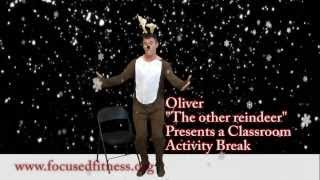 Reindeer Classroom Activity Break