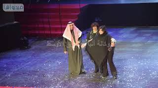 بالفيديو : تكريم ٢٥ فنانا مسرحيا في افتتاح مهرجان المسرح العربي
