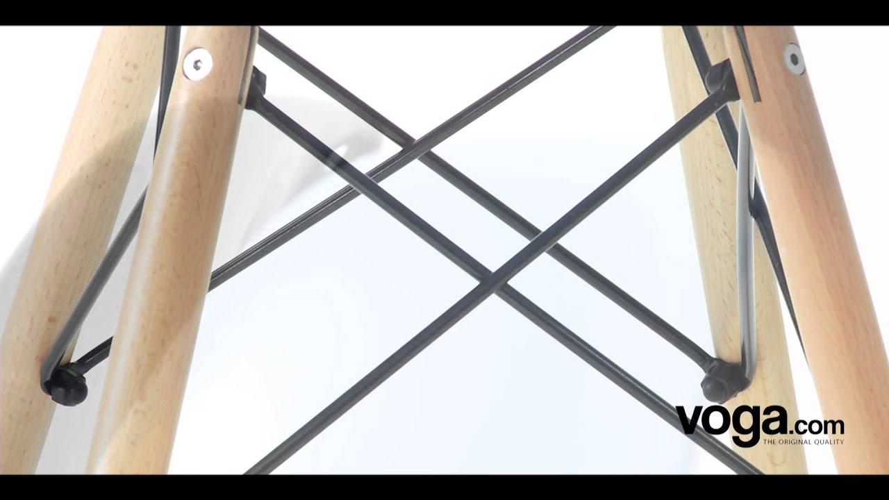 Eames DSW Stuhl Voga Replikat Von Charles Eames DSW