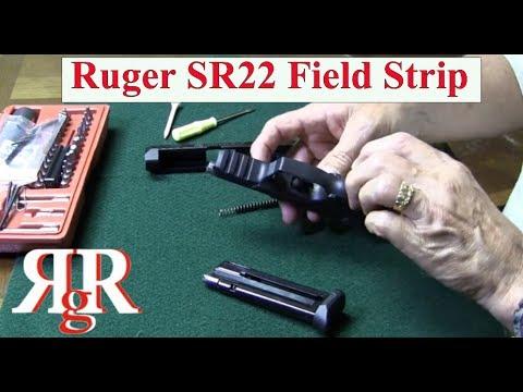 Ruger SR22 Field Strip - YouTube