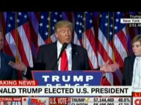Donald Trump Becomes 45TH United States of America President