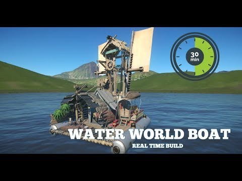 Water World Boat! | 30 Minutes & Under | Planet Coaster