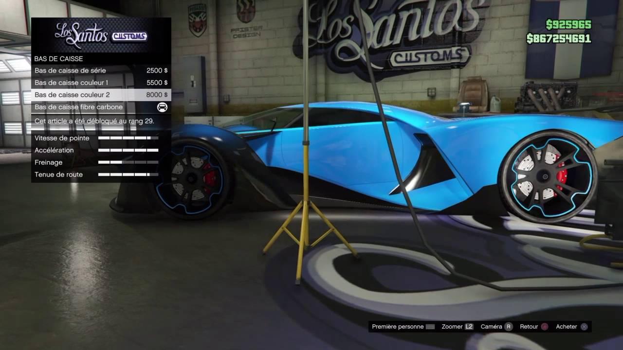 nouvelle voiture la plus rapide de gta 5 online grotti x80 proto youtube. Black Bedroom Furniture Sets. Home Design Ideas