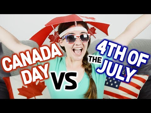 What's The Difference Between Canada Day & July 4th?