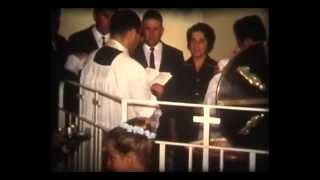 Catholic Baptism 1971 Rare Super 8mm Footage - Sydney Australia