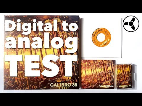 Digital to Analog Test: the same track on CD, cassette & vinyl compared