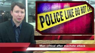 Chris Gaylor attacked with machete in Stevenson, Alabama