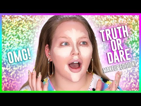 TRUTH OR DARE MAKEUP CHALLENGE!