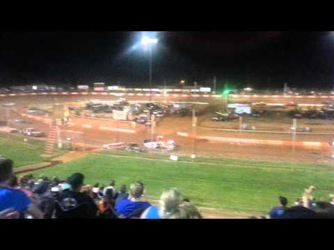 Dixie Speedway Waterless Boat Race