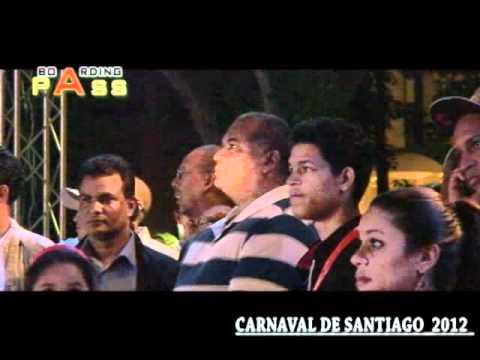 Presentación Reyna del Carnaval Santiago 2012 : Grupo de Lechones \