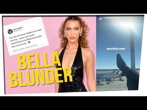 Bella Hadid Makes a Mistake on Instagram! (ft. All Girls Cast)
