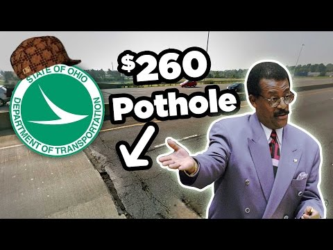How I won a claim against State of Ohio for Pothole Damage to my vehicle