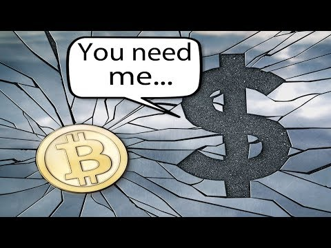 Why Bitcoin Can't Replace The US Dollar (Fiat)