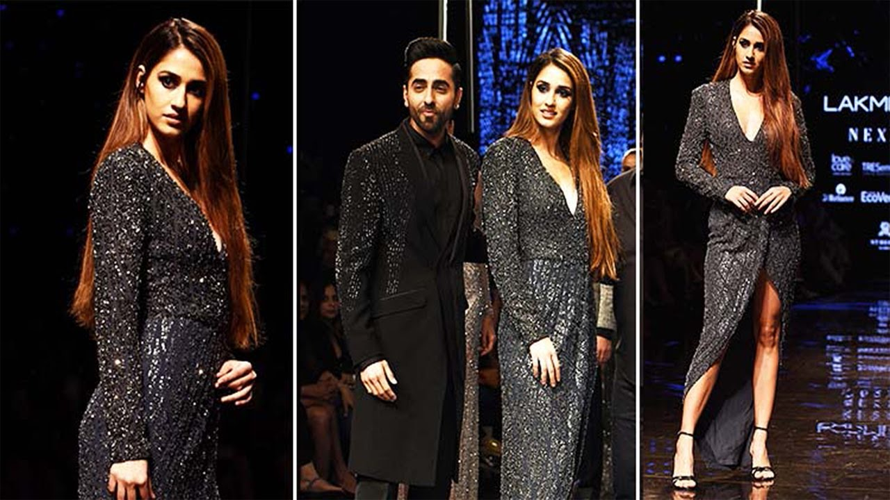 Disha Patani & Ayushmann Walk For Rohit Gandhi+Rahul Khanna Fall/Winter 2019/20 Lakme Fashion Week