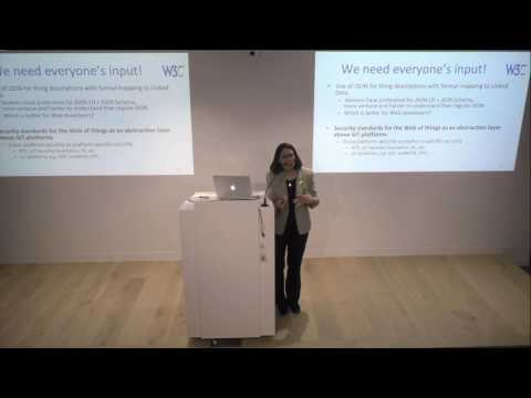 Chat With W3C -  Karen Myers, The Web Meetup, Melbourne, April 2017