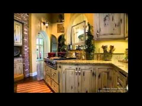 Distressed White Kitchen Cabinets YouTube