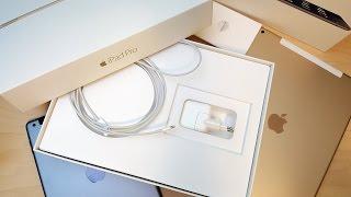 Распаковка Apple iPad Pro: хороший планшет за 90000 рублей(Есть лишняя сотня тысяч рублей? Тогда тратим их на планшет. Планшет Apple iPad Pro с яблочком, 4 динамиками, огромны..., 2015-11-26T15:53:17.000Z)