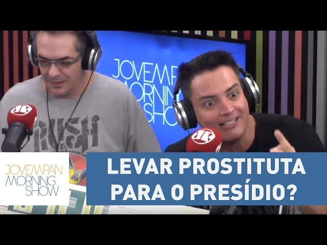"""Leo Dias: """"Levar prostituta para o presídio? Nunca tinha visto isso.""""   Morning Show"""
