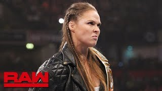Ronda Rousey reminds Becky Lynch who she's dealing with at Survivor Series: Raw, Nov. 5, 2018