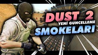 Dust 2 İçin Tünelden Atılan Yeni Smokelar! - Cs:GO