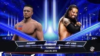 WWE 2K15. POMEH vs JEY USO