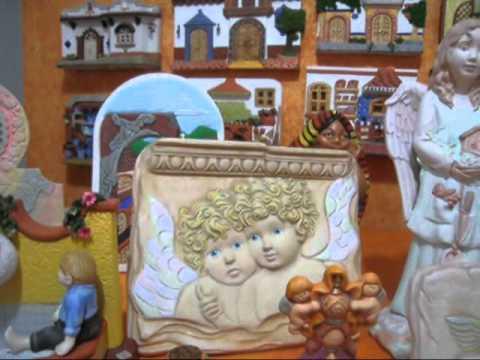 Figuras de ceramica pintadas youtube for Figuras ceramica
